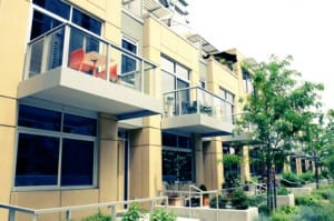 townhomes modern urban - istock