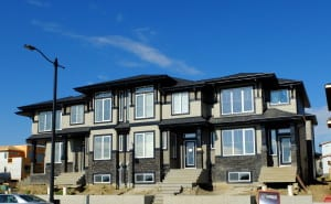 The first group of Larch Park units are ready for occupancy - just a bit of landscaping to finish up.