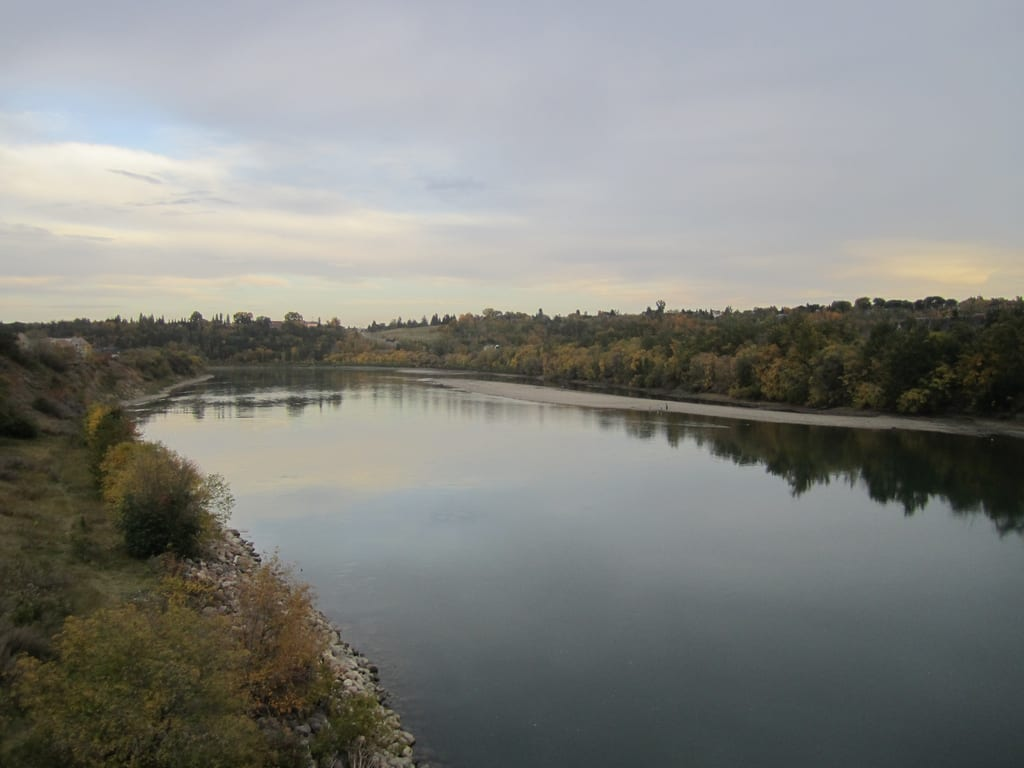 Image of the Edmonton River Valley, taken by Mack Male