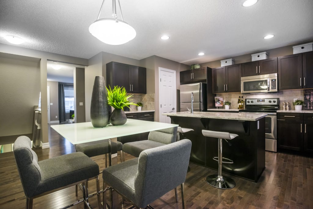Interior of the First Place Program showhome at Caenarvon
